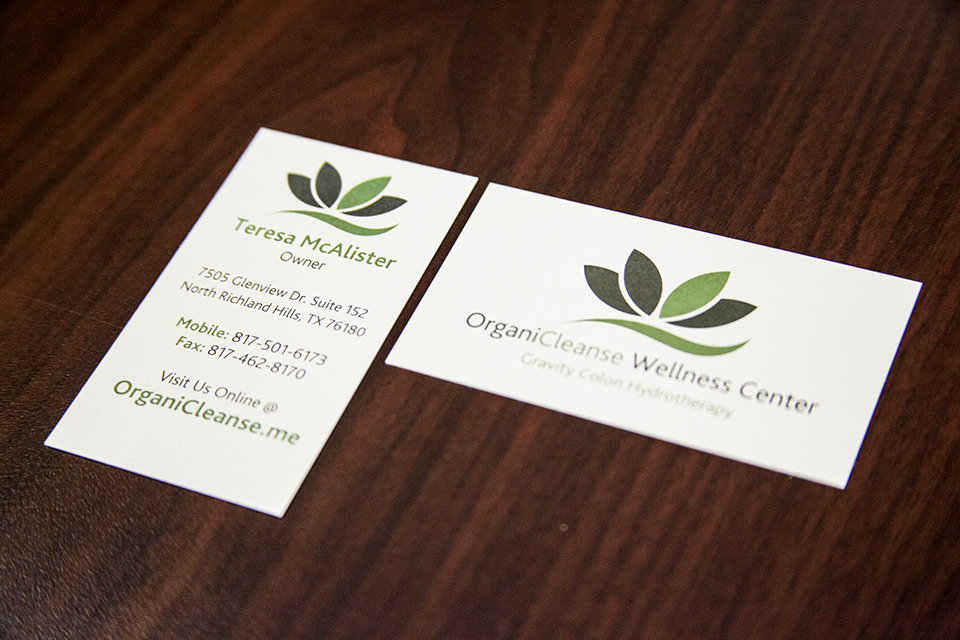 organicleanse-business-cards