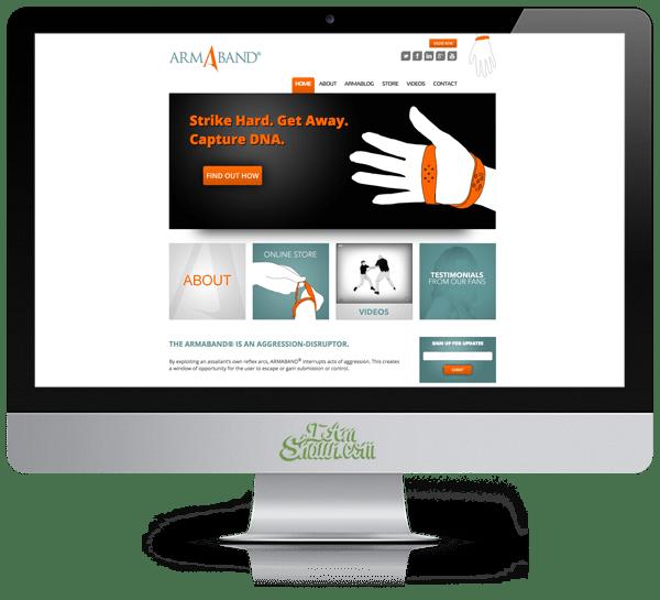 armaband-web-design
