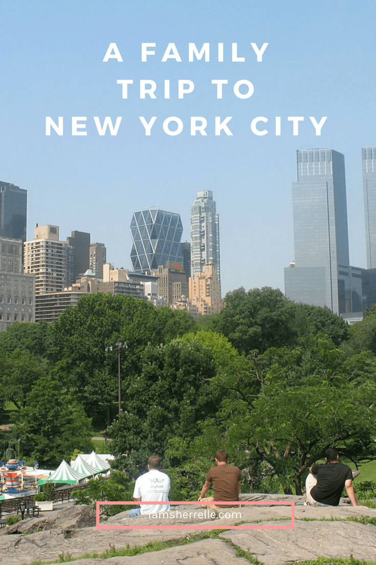 A Family Trip To New York City - Sherrelle