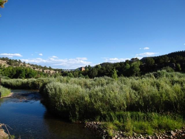 Forked Lightning Ranch - river