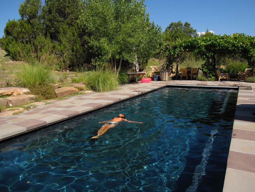 Forked Lightning Ranch - pool