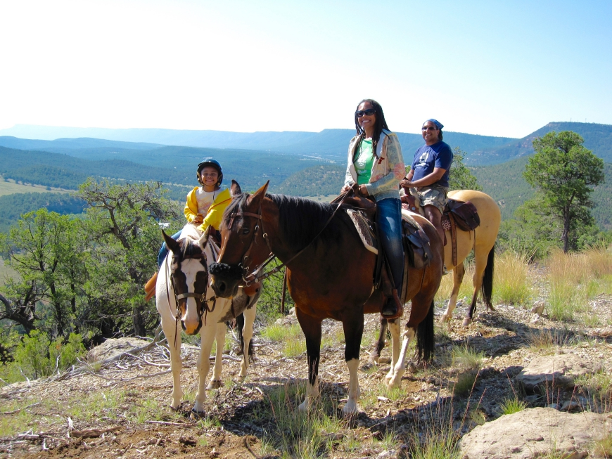 horseback riding - Forked Lightning Ranch
