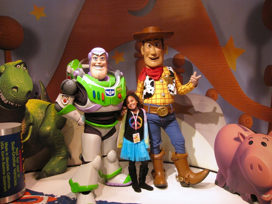 Disney World Social Media Moms 2010 - Woody and Buzz - http://iamsherrelle.com