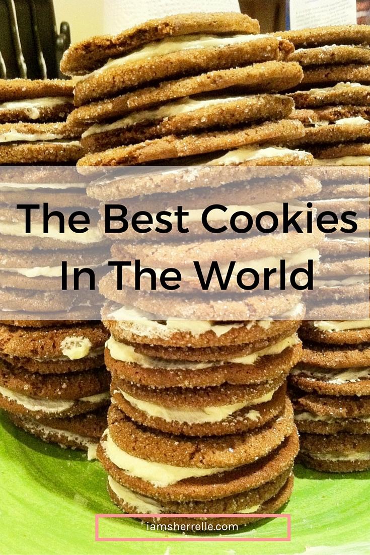 Gingerbread and Lemon Sandwich Cookies | baking -Sherrelle