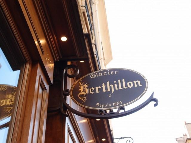 Berthillon sign http://iamsherrelle.com