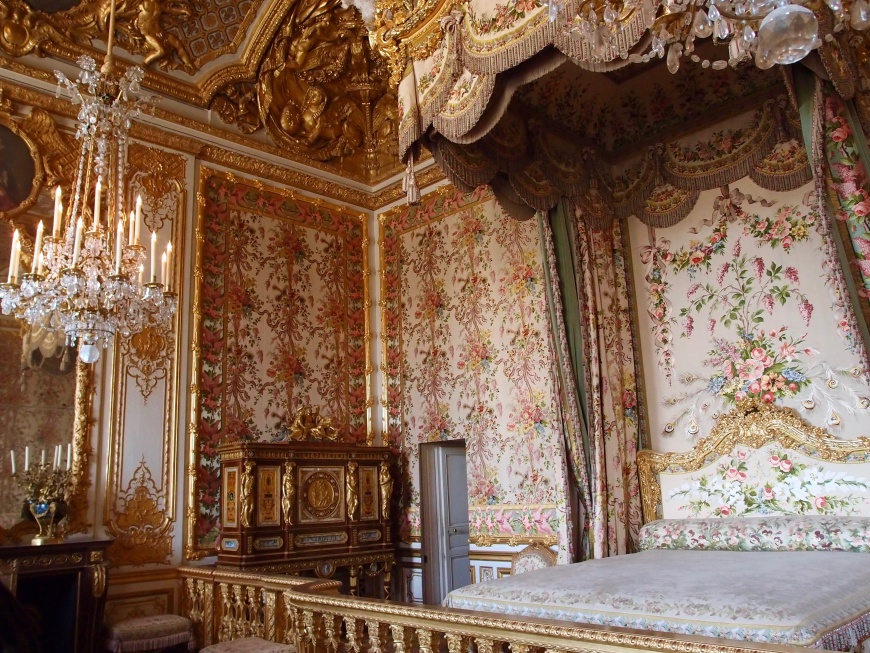 Versailles Marie Antoinette Bedroom http://iamsherrelle.com