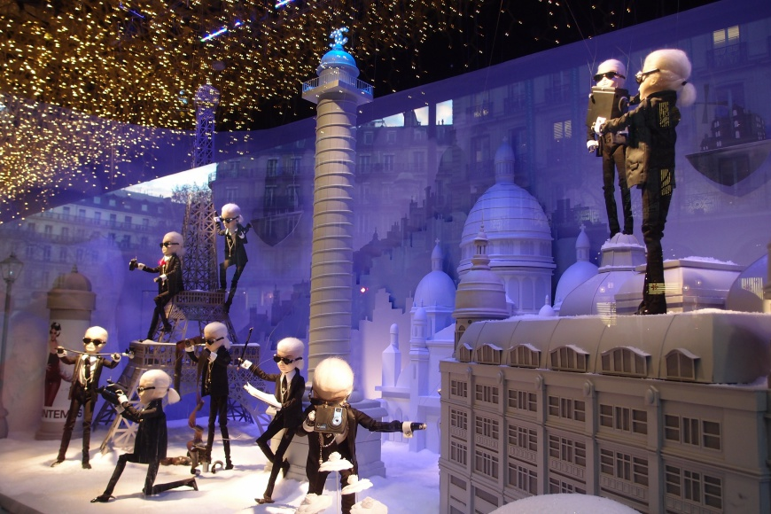 Printemps window display http://iamsherrelle.com