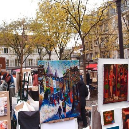 Explore Paris Alone Sacre Coeur -artists http://iamsherrelle.com