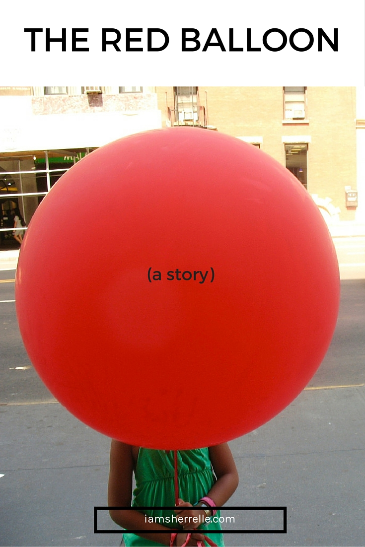 The Read Balloon (a story). - Sherrelle