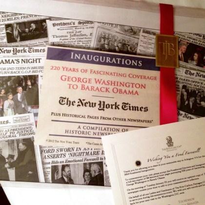 Inauguration of President Barak Obama - my family - http://iamsherrelle.com