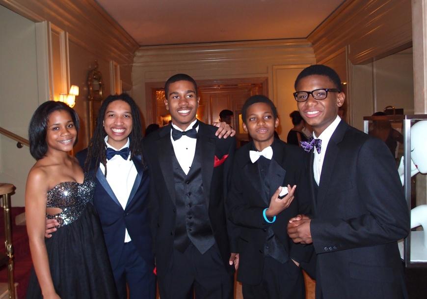 Inauguration of President Barak Obama - Jack and Jill Teens - http://iamsherrelle.com