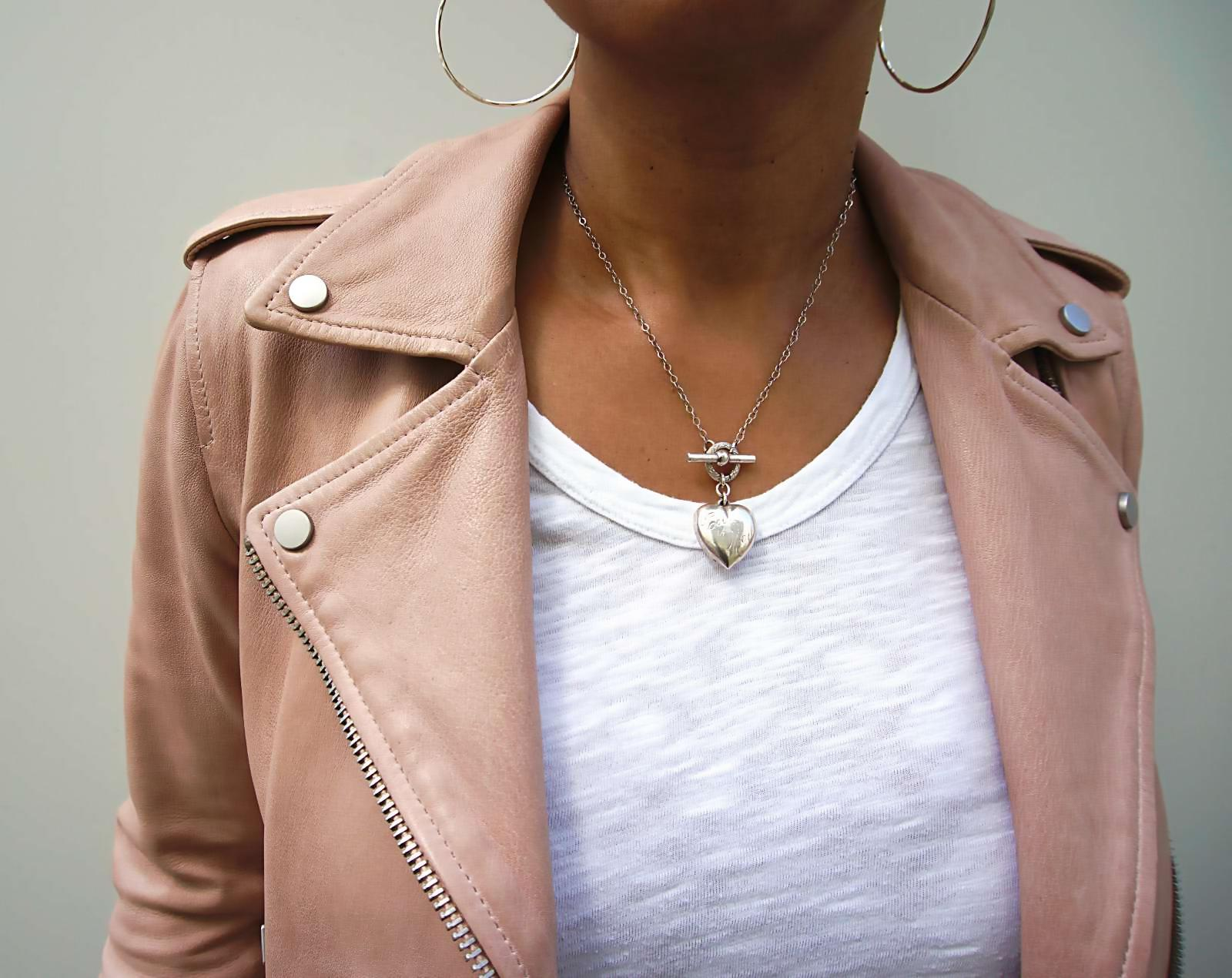 What to wear for effortless cool - it's easier than you think (in fact effortless). | My Syle | Wilt tee | Allsaints leather jacket - Sherrelle
