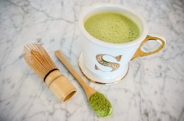 A recipe for bulletproof matcha latte.