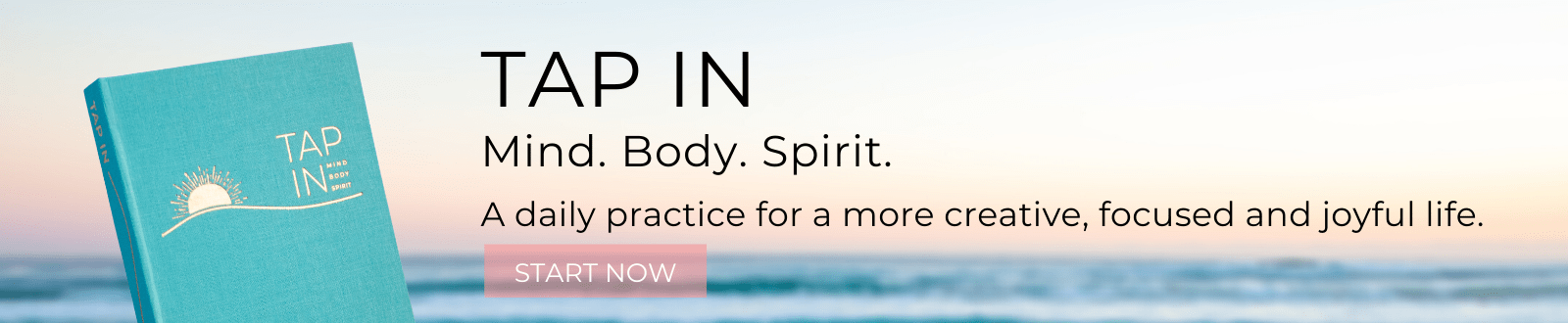 TAP IN wellness journal mind body spirit