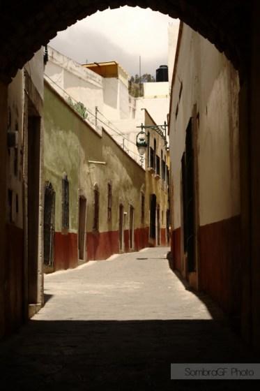 enmarcado natural calle zacatecas méxico