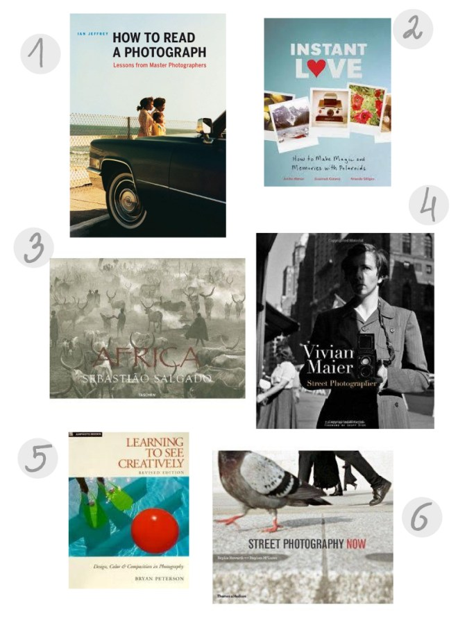 photography book wishlist