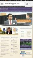 It feels great to be features on the homepage of the University's website. It was a brilliant experience attending the career fair ath the University of Bridgeport. Who doesn't like some attention, I loved it when people said that they saw me somewhere.
