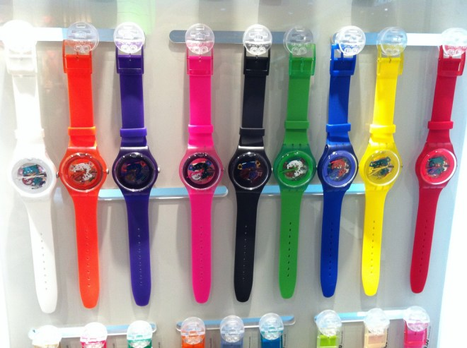 Overpriced watches. Picture licensed under CC, by choo chin nian