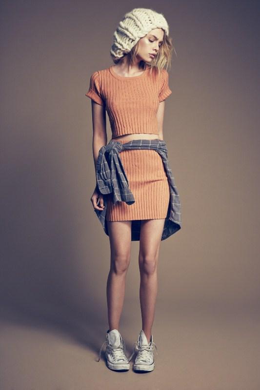 For Love & Lemons Snugger Skirt $32