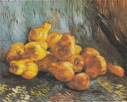 Still Life with Quinces / Quittenstillleben (Vincent van Gogh, Paris, Winter, 1887-1888)