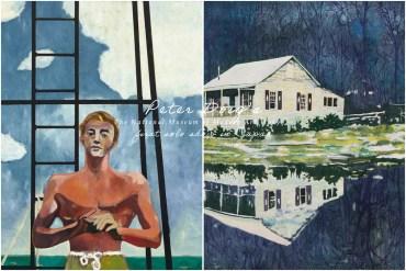 極度極度低調的高拍價英國當代藝術家 Peter Doig 降臨東京國立近代美術館