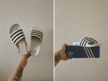 adidas Originals 膠拖鞋 Made in Italy?就是這一雙!