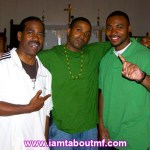 Kurtis Blow, Tabou TMF aka Undefinable One & Noah at The Hip Hop Church