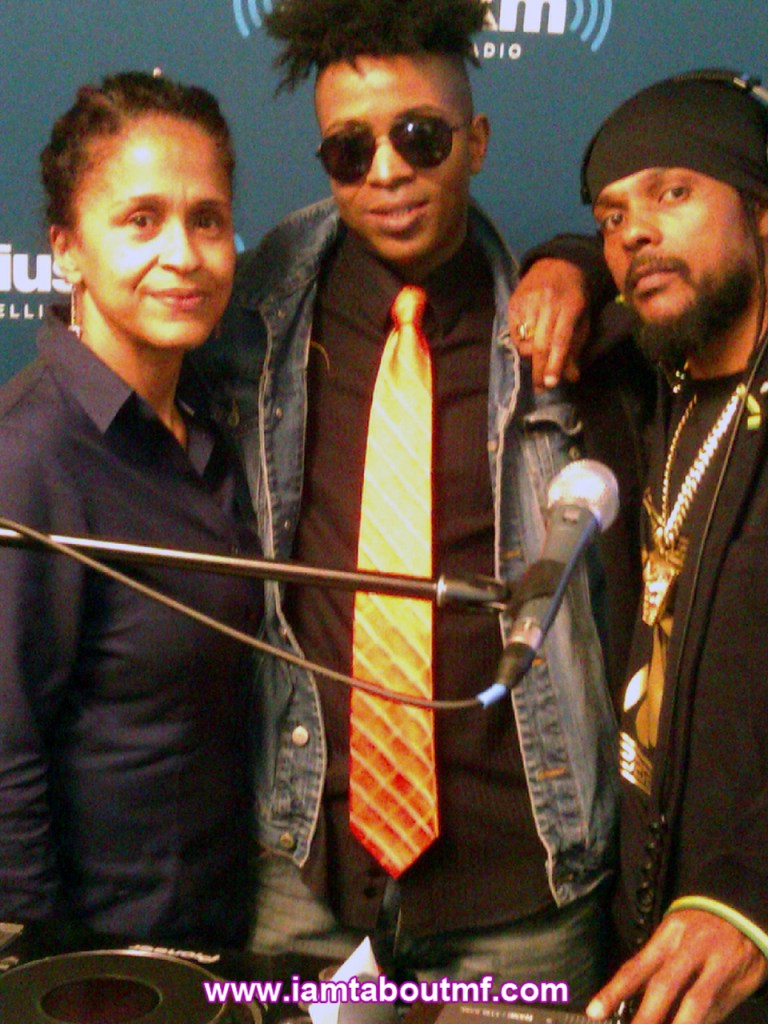 Pat Mckay, Tabou TMF aka Undefinable One & Lionface aka Babyface at Sirius XM