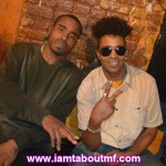 Steve & Tabou TMF aka Undefinable One chilling at Live Show at Lit Lounge