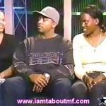 Tabou TMF aka Undefinable One on The Couch at The Original BET 106 & Park in NYC