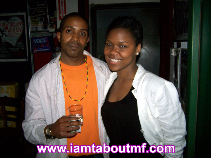 Tabou TMF aka Undefinable One & Shanelle Gabriel at The Nyuorican Poets Cafe
