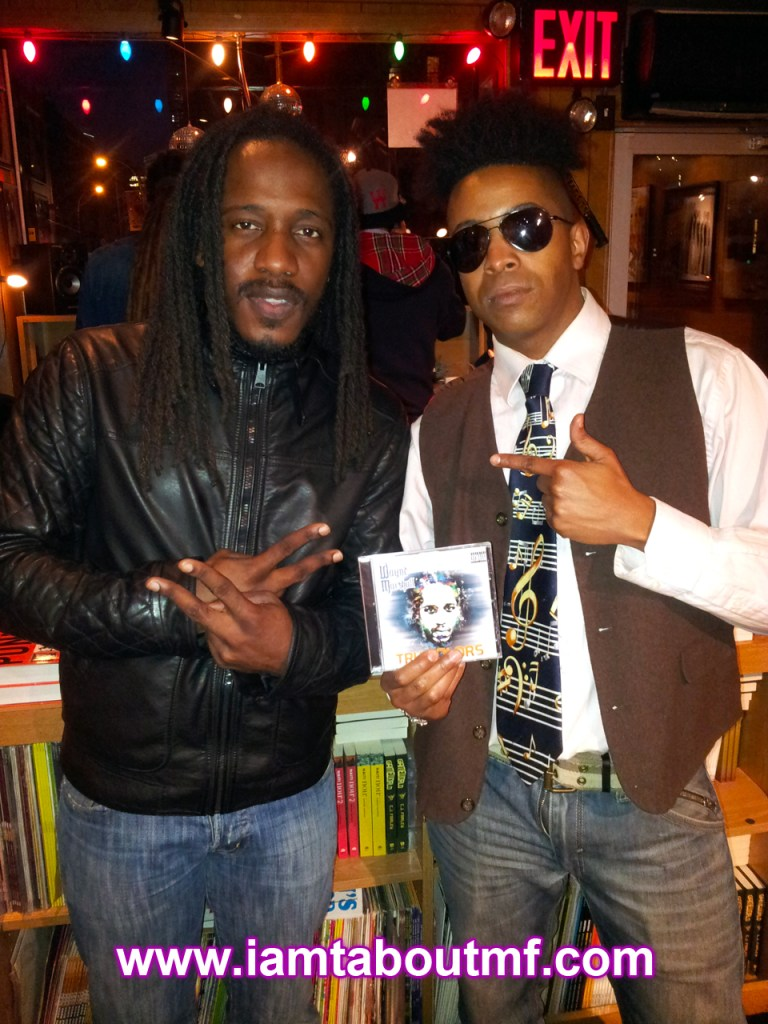 Tabou TMF aka Undefinable One & Wayne Marshall at Miss Lillys for Album Release