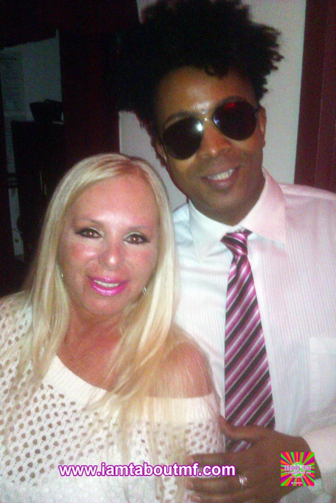 Tabou TMF aka Undefinable One and Linda Torres of VH1's Mob Wives