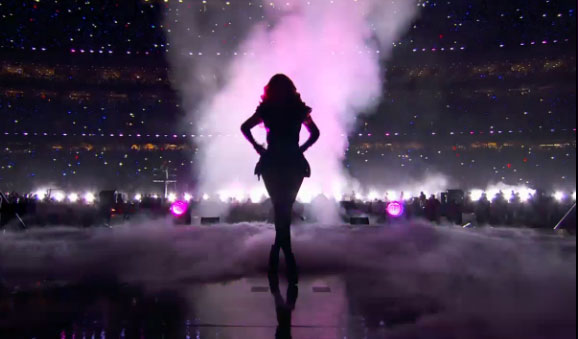 The Winner of The Super Bowl - Beyonce