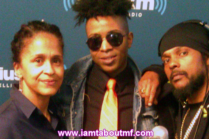 Pat McKay, Tabou TMF aka Undefinable One and Lion Face aka Baby Face at Sirius XM