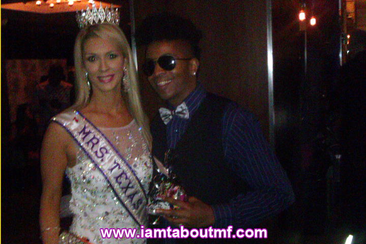 Tabou TMF aka Undefinable One & Miss Texas International at Platforn Magazine Launch Party at INC Lounge at The Time Hotel in NYC