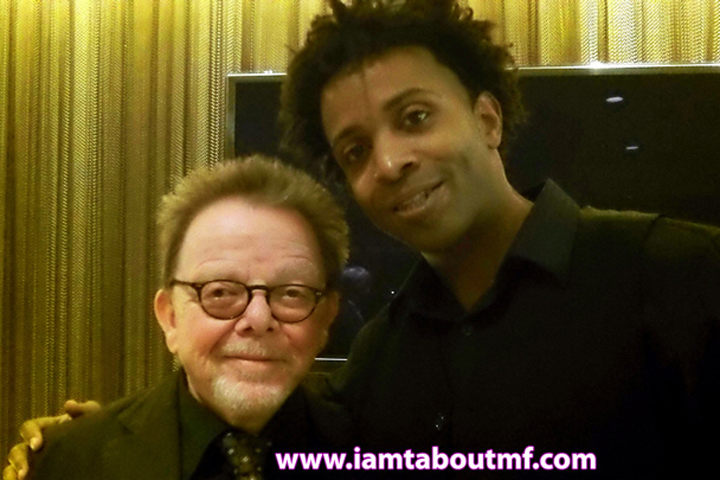 Tabou TMF aka Undefinable One and Paul Williams ASCAP President at HBO Premiere