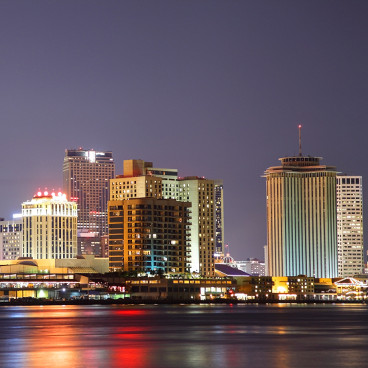 New Orleans City Night