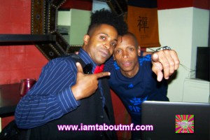 Tabou TMF aka Undefinable One and Ced Gee of The Ultramagnetic MC's
