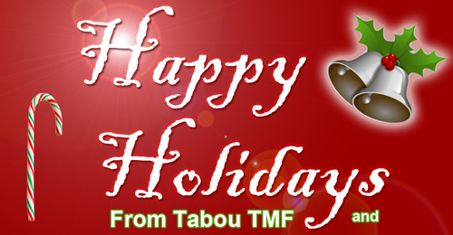 Happy Holidays from Tabou TMF and Team Undefinable