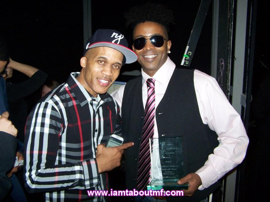 DJ Cool Clyde & Tabou TMF aka Undefinable One Winner of Best Music Program Award
