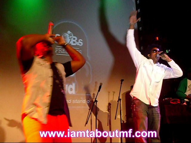 Path P & Tabou TMF aka Undefinable One performing at SOB's in NYC