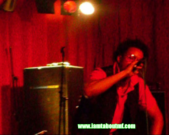 Tabou TMF aka Undefinable One Performing at Sullivan Hall aka The Lions Den