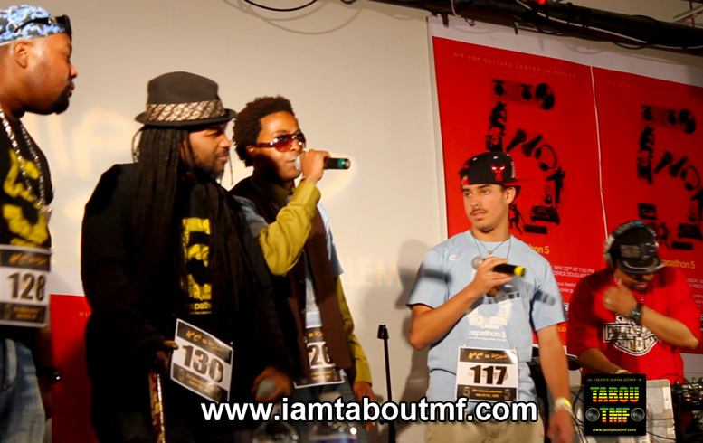 Tabou TMF aka Undefinable One Performing at The Rapathon 5 in Harlem