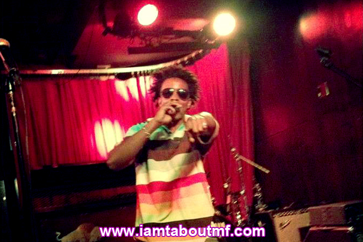 Tabou TMF aka Undefinable One Performing at Tammany Hall in New York City