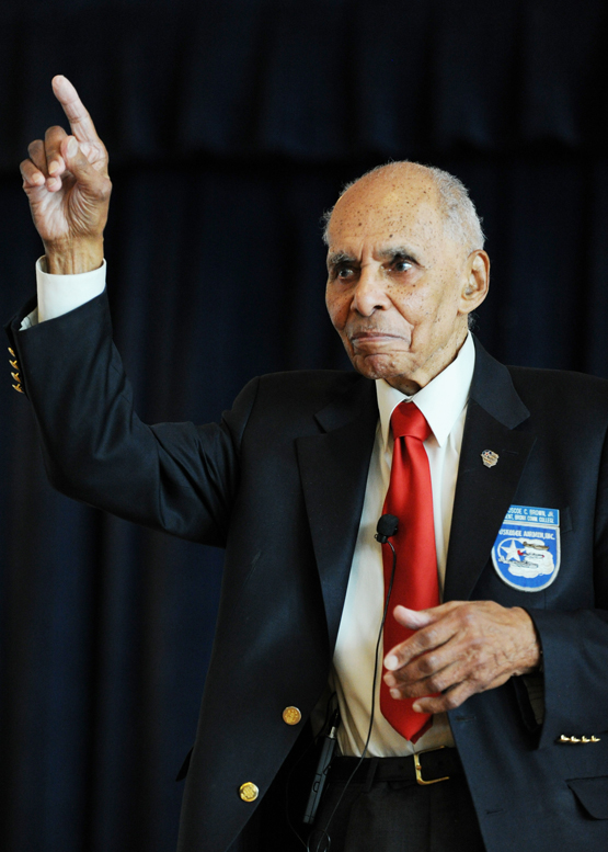 Dr Roscoe C Brown Tuskegee Airman and American hero
