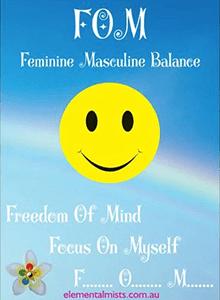 FOM balance mist