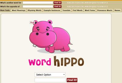 Word Hippo幫你查詢英單同義字及例句 | 鬆餅人的教學網誌