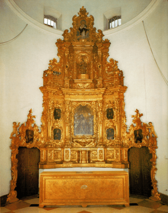 Retablo de la Orden Tercera de San Francisco, Iglesia de San Francisco, Caracas, 2016.