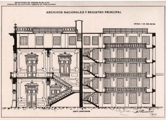 Archivo General de la Nación. Corte.